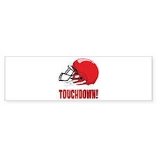Touchdown! Bumper Bumper Sticker