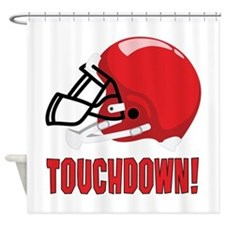 Touchdown! Shower Curtain