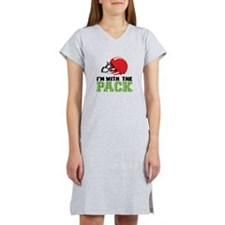 Im With The Pack Women's Nightshirt