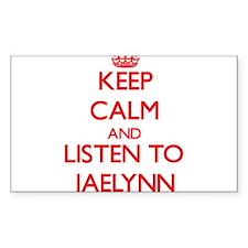 Keep Calm and listen to Jaelynn Decal