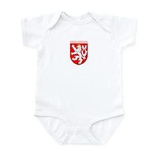 Czech Republic Coat of Arms Infant Bodysuit