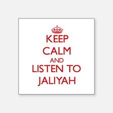 Keep Calm and listen to Jaliyah Sticker