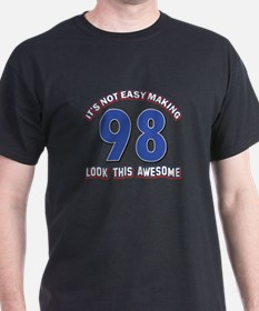 98 year old birthday designs T-Shirt