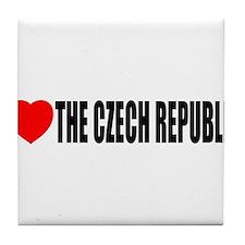 I love the Czech Republic Tile Coaster