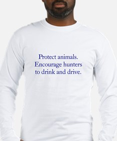 Protect Animals Long Sleeve T-Shirt