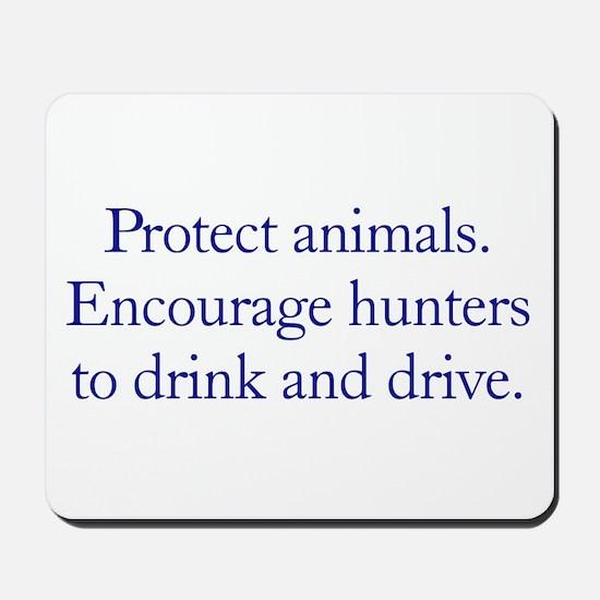 Protect Animals Mousepad
