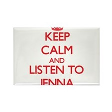 Keep Calm and listen to Jenna Magnets