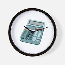 Math Equations Calculator Wall Clock