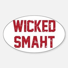 Wicked Smaht Decal
