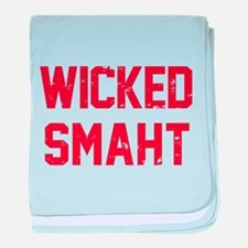 Wicked Smaht baby blanket
