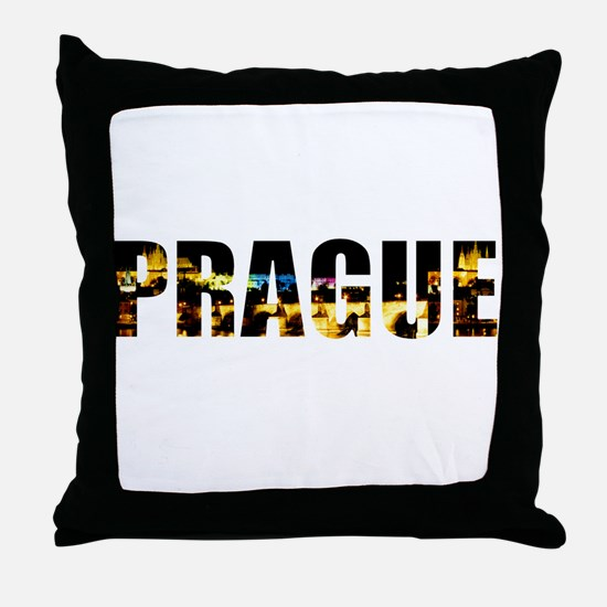 Prague, Czech Republic Throw Pillow