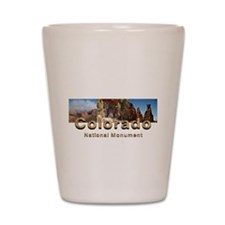 Colorado National Monument Shot Glass