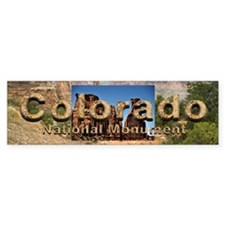 Colorado National Monument Bumper Sticker