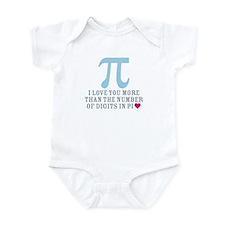 Digits in Pi Infant Bodysuit