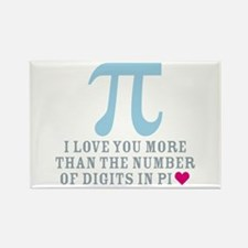 Digits in Pi Rectangle Magnet