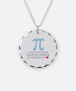 Digits in Pi Necklace