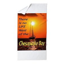 CHESAPEAKE BAY Beach Towel