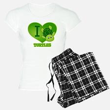 I Love Turtles Pajamas