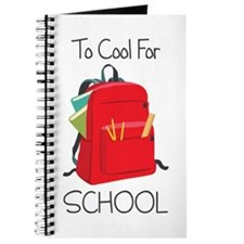 To Cool For School Journal