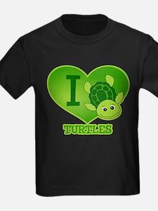 I Love Turtles T