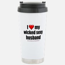 """""""Love My Wicked Sexy Husband"""" Stainless Steel Trav"""