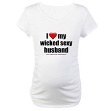 """Love My Wicked Sexy Husband"" Shirt"