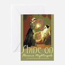 Nightingale Student Nurse Greeting Cards (Package