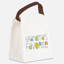 Grandmas Favorite Canvas Lunch Bag