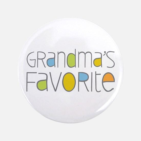 "Grandmas Favorite 3.5"" Button"