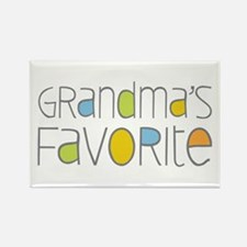 Grandmas Favorite Rectangle Magnet
