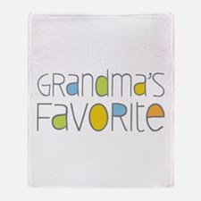 Grandmas Favorite Throw Blanket