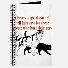 dont hurt pets Journal