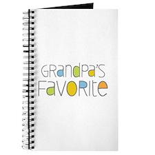 Grandpas Favorite Journal