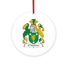 O'Malone Ornament (Round)