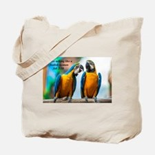 Talk Tote Bag