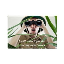 Search Rectangle Magnet (10 pack)