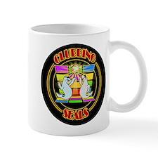 Clubbing Seals Disco Dancing Mugs