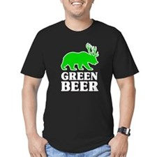 Bear/Deer Green Beer T-Shirt