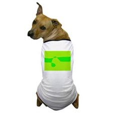Beautiful Green Dog T-Shirt