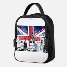 Cute London Neoprene Lunch Bag