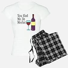 You Had Me At Merlot Pajamas