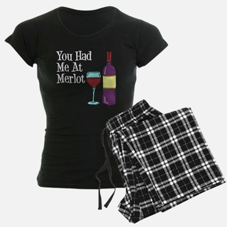 You Had Me At Merlot Women's Pajamas