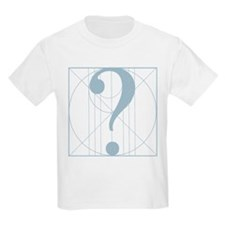 Beautiful Questioner icon (lt blue) T-Shirt
