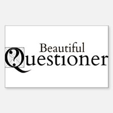 Beautiful Questioner Decal