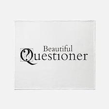 Beautiful Questioner Throw Blanket