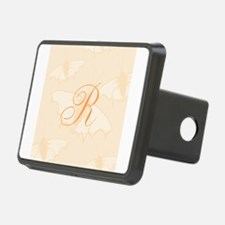 Initial and Butterflies Hitch Cover