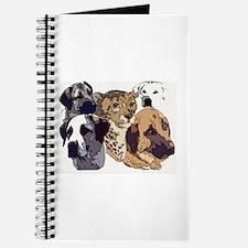 Cute Anatolian shepherd dog Journal