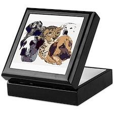 Cute Anatolian shepherd dog Keepsake Box