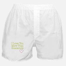 Love You Guacamole Boxer Shorts