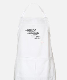 Out of the box mind Apron